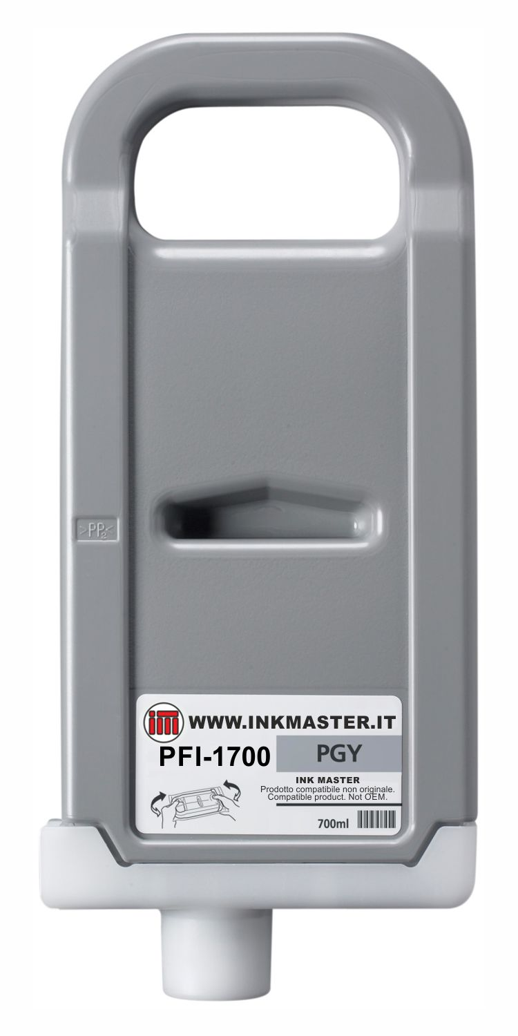 Cartuccia compatibile CANON PFI-1700 PHOTO GRAY  per Canon PRO-2000 PRO-4000 PRO-6000 PRO-4000S PRO-6000S